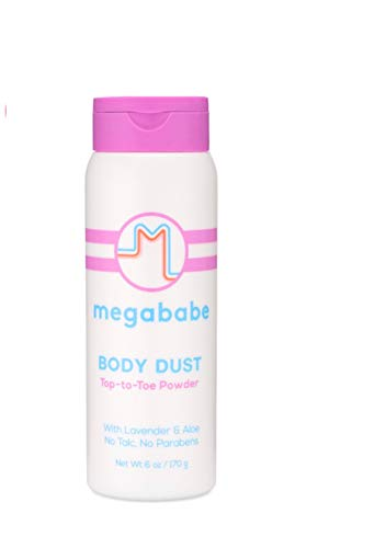 Megababe Body Dust Top To Toe Powder With Lavender & Aloe No Talc No Parabens
