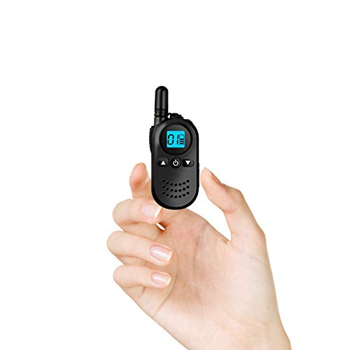JYtop 2019 New M1 Mini Compact Civilian walkie-Talkie 4S Hotel Hair Salon Beauty Salon Catering Industry Wireless Hand Table Black with Screen