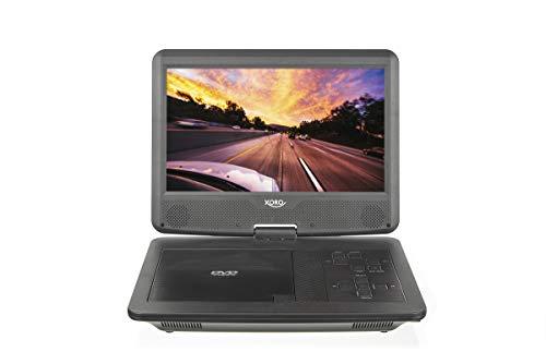 "Xoro HSD 1015 10,1\"" (25,65 cm) Portabler DVD Player mit DVB-T2 TV (FTA, Mediaplayer, Fernbedienung)"
