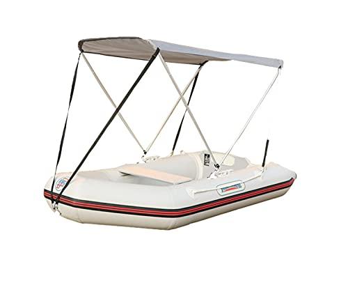 HAN XIU Toldo Especial Bimini Cubiertas para Botes para Embarcaciones Inflables para Kayak, Pesca, Bote De Asalto para La Pesca De Camping Al Aire Libre