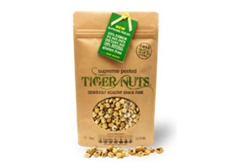 Tiger Nuts - Bolsa de 140 gramos de nueces peladas superior TIGER