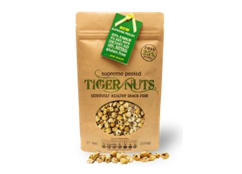 Tiger Nuts - Bolsa de 140 gramos de nueces peladas superior TIGER