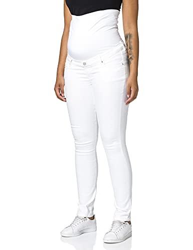 Noppies Pants OTB Skinny Romy Pantaln, Every Day White-P150, W27 para Mujer
