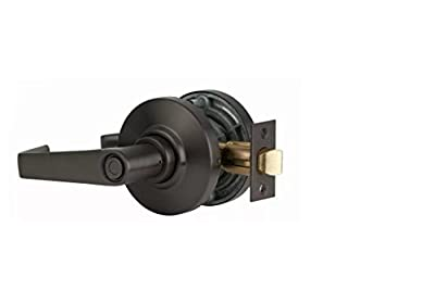 S. Parker Grade 2 ADA Approved SL Heavy Duty Non-Handed Commercial Cylindrical Privacy Lever Lock For Bed Or Bath Metal Or Wood Doors