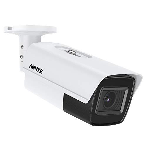 ANNKE AZ800 Zoom 4K mit 5 x optischem Zoom 8MP Ultra HD TVI Bullet Überwachungskamera 4-in-1 Kamera 260 ft Nachtsicht IP67 Wetterfest 105 dB Digital WDR & 3D DNR für Videoüberwachung im Innenbereich