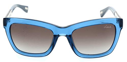 Lavin Lanvin Sonnenbrille SLN673V 0T90 52 20 135 Cateye Sonnenbrille 52, Blau