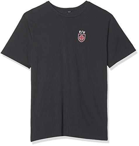 BRIXTON T-Shirt Homme S/S PRT Hedge Independent X Washed Black XXL Noir