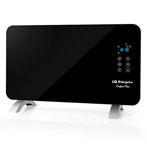 Orbegozo REH 1060 - Panel radiante digital, 1000 W, pantalla digital LED, programable, silencioso, protección IP 24