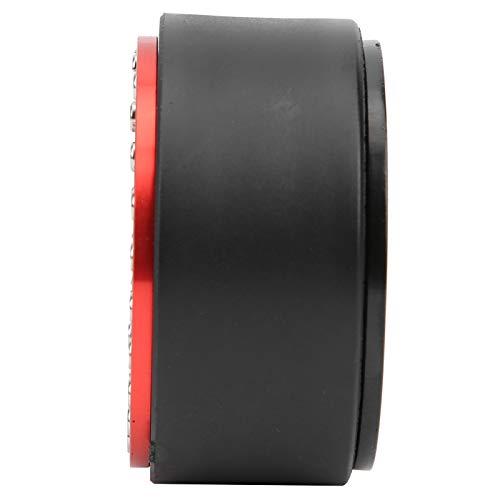 12 puntos de agujero cuadrado tipo 1,9 en RC, buje de aluminio ligero sin adhesivo, alta durabilidad para niños, juguetes infantiles, regalo (rojo negro)