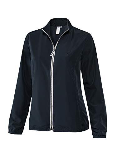 Joy Sportswear Nora Zip-Jacke Microfibre für Damen langärmeligem Schnitt für Sport, Fitness und Freizeit, gefertigt aus Microfaser 44, Night