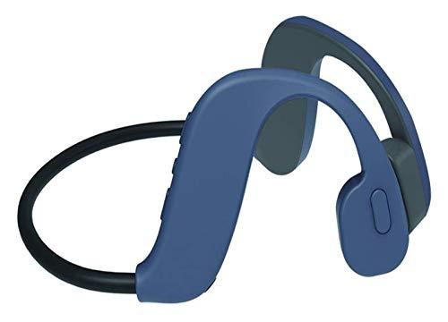 WYYHYPY Auricular de la conducción ósea Bluetooth Bluetooth Inalámbrico iPX8 IPX8 Auriculares Deportivos, para Correr Corriendo Ciclismo, Gris Auriculares Bluetooth (Color : Gray)