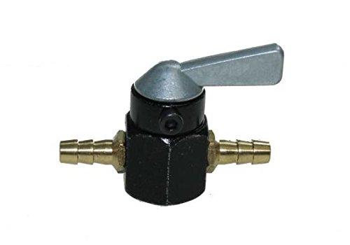 Benzinhahn universal für 5-6mm Benzinschlauch (Anschlussweite: 6 mm) für Roller Mofa Moped NEU