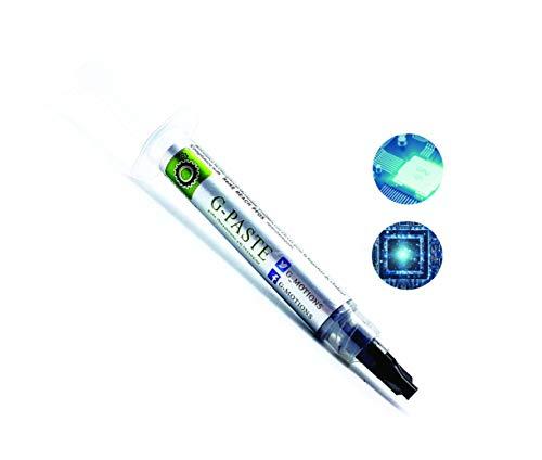 G-Motions Wärmeleitpaste, 3 g Qualitäts-Wärmeleitpaste für alle CPU-Kühler, extrem hohe Wärmeleitfähigkeit, niedriger thermischer Widerstand, sichere Anwendung, lange Haltbarkeit