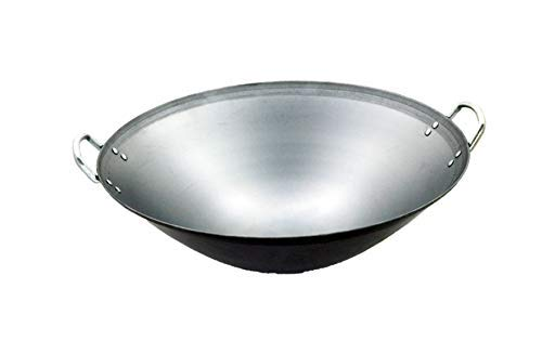 SL-PA450E: 18″ Stainless Steel Wok (Induction Ready)
