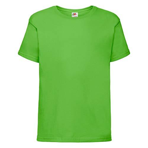 Fruit of the Loom Sofspun® T Kids, Farbe:Lime, Größe:140