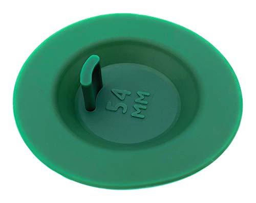 MacMaxe Backflush Disc – Blindeinsatz für Espressomaschine – Silikon in Lebensmittelqualität – 3 Größenvarianten – kompatibel mit Reinigungstabletten und Pulver – Breite Kompatibilität – (54 mm)