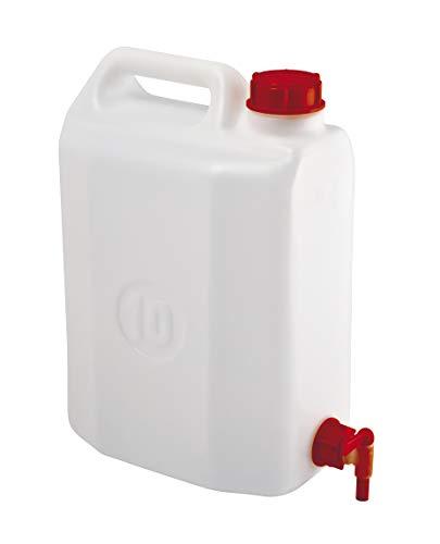 Mobil Plastic tanica con rubinetto per trasporto liquidi - 10 litri