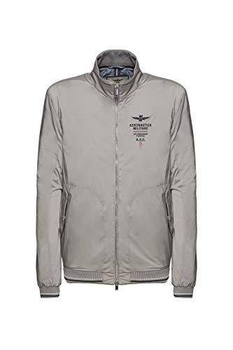 Preisvergleich Produktbild Aeronautica Militär Jacke AB1838,  hellgrau,  für Herren,  Jacke,  Blouson,  AB1838-34331,  AB1838-34331 Medium