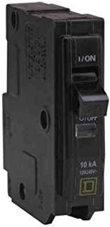 Square D by Schneider Electric One Source QO120CP 20-Amp 1-Pole Plug Circuit Breaker, Pack of 1