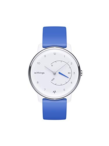 Withings Move Ecg - Orologio Fitness con Funzione Ecg - Blu