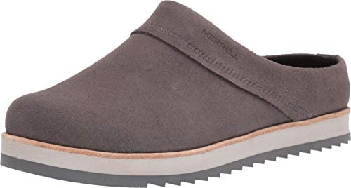 Merrell womens Juno Suede Clog Charcoal 8 US product image