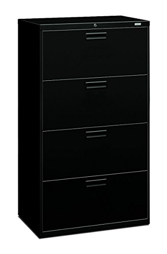 Big Sale Best Cheap Deals HON 574LP 500 Series 30 by 53-1/4 by 19-1/4-Inch 4-Drawer Lateral File, Black