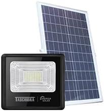 Refletor luminária Led C/placa Solar Casa Jardim 60w Taschibra
