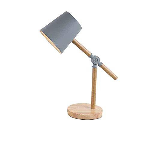 Schreibtischlampe, Tischleuchte, Augenfreundliche Leselampe, Arbeitsleuchte, Bürolampe, Nachttischlampe Nordische Schmiedeeisen-Tischlampe, die LED-Augenschutz-Tischlampe lernt p
