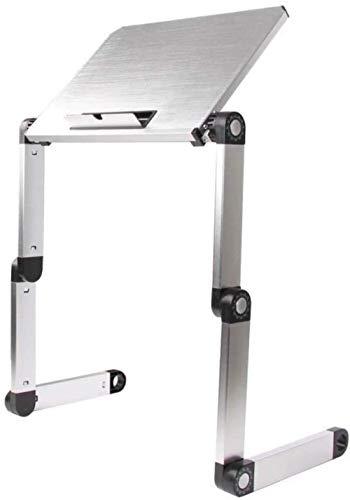 Opklapbaar bureau Computerstandaard Radiator Stand-up Lifting Draagbaar bed Desktop Verhoogde voetsteun Ondersteuning Zwarte laptop bedtafel