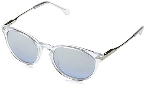 Lozza Herren Sl4076M Sonnenbrille, Blau (Shiny Crystal), Einheitsgröße