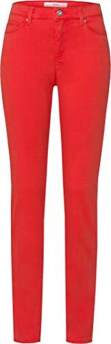 BRAX Damen Style Shakira Hose Casual Sportiv Skinny Jeans, ORANGE RED, One Size (Herstellergröße: 44L)