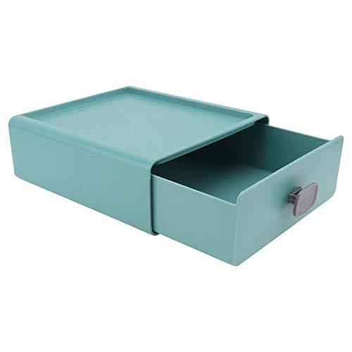 PIXNOR Tiroirs De Rangement en Plastique Empilable De Bureau Organizer Box pour Maquillages Bijoux Artisanat Bureau Commode Vanité Comptoir Bureau Fournitures