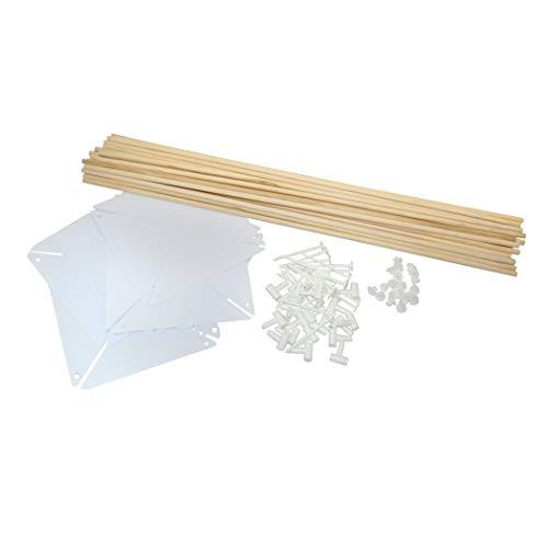 Windrad Bastel Set 20 Stück zum selber bemalen und basteln