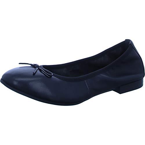 Tamaris 1-1-22116-26, Zapatos Tipo Ballet Mujer, Negro, 37 EU