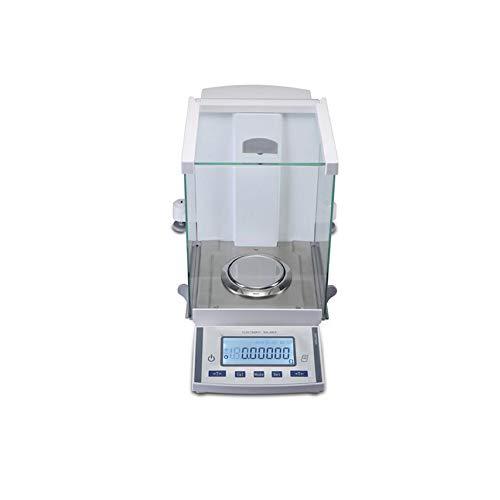 CGOLDENWALL, balanza analítica de laboratorio de alta precisión, pantalla separada, sensor de fuerza electromagnética, interfaz de comunicación RS232 (calibración externa), 120 g/0,1 mg-51 g/0,01 mg.
