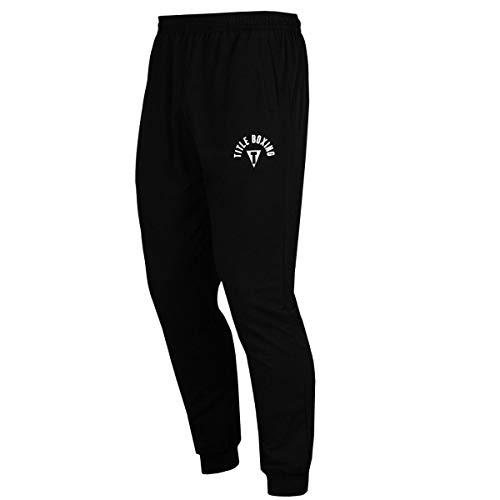 Title Boxing Jogger Pants, Black, X-Large
