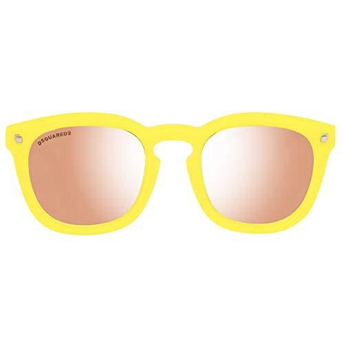 DSQUARED2 Sunglasses Dq0198 41G 49 Gafas de sol, Amarillo (Gelb), Unisex Adulto