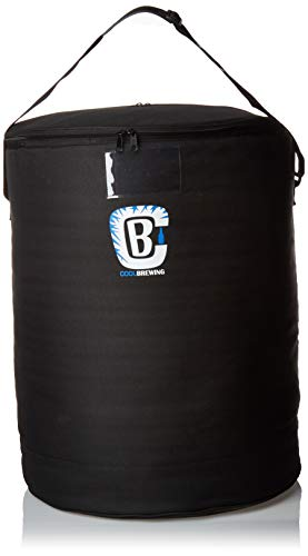 Home Brewing Fermentation Cooler - Beer Temperature Control for Carboys. Serve Kegs and Corny Keg. Fermenting Brewing Bag, Insulated Fermenter chamber. Cool Brewing Fermentation Cooler 2.0