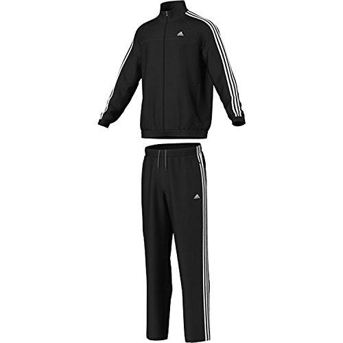adidas Performance heren trainingspak zwart 5 / lang