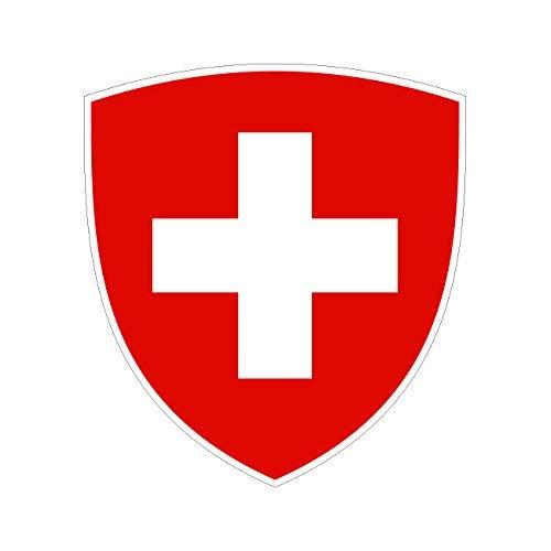 Swiss Coat of Arms Sticker Die Cut …