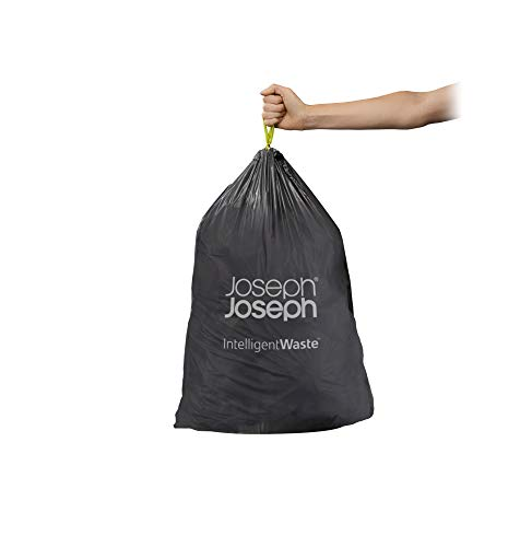 Joseph Joseph IW1 General Waste Bags, Pack of 20, Black, 24-36 L