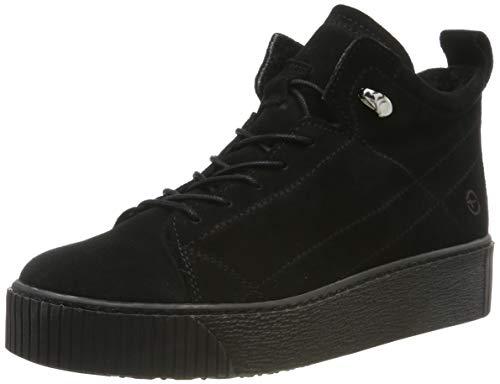 Tamaris Damen 1-1-25258-23 Sneaker, Schwarz (Black 1), 38 EU