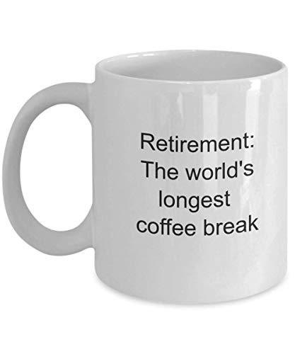 N\A Regalos de jubilación Regalos de jubilación para Maestros Regalo de jubilación Taza de jubilación Regalos de jubilación Regalos para Maestros de jubilación para Hombres