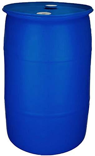 55 Gallon Water Storage Barrel-New Factory Fresh | Food Grade Material |BPA Free | Blue Closed Top