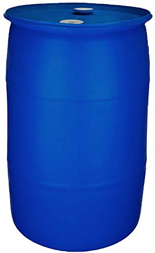 55 Gallon Water Storage Barrel-New Factory Fresh | Food Grade Material |BPA Free | Blue Closed Top