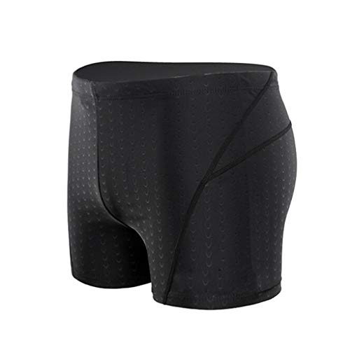 Aoogo Badehose für Herren Wettkampf Schwimmhose kurz eng Training Swimwear Men Badebekleidung Junge Kastenbadehose Männer Swimming Trunks Badepants Sport Training