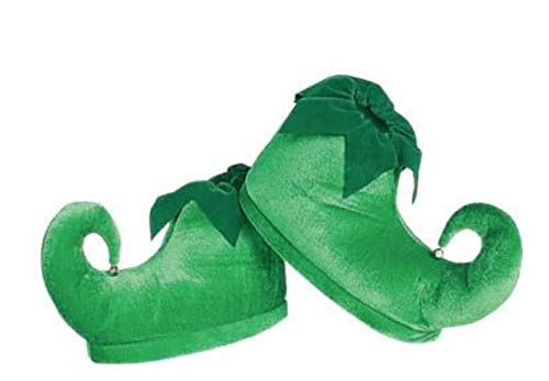 Rubie's womens Deluxe Elf Shoes Green One Size, Green, One Size US