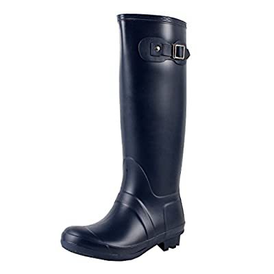 Guilty Heart West Blvd Seattlev2.0 Waterproof Boots, Navy Rubber, 10
