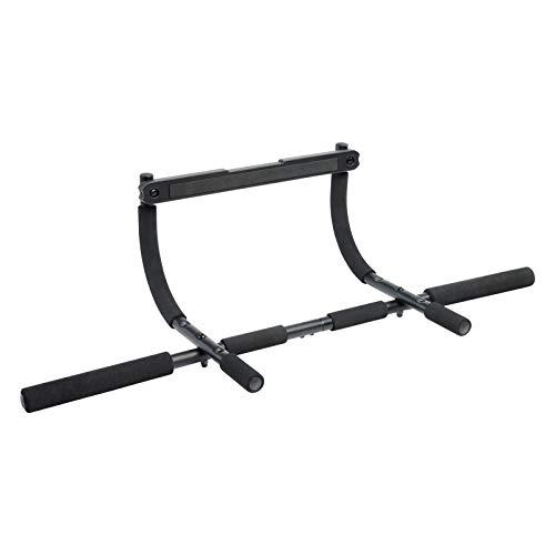 Deuser Multi Gym multifunktionelles Übungsreck/Türreck/Klimmzugstange für Klimmzüge, Liegestütze, Bauchmuskel-, Arm-, und Schulterübungen
