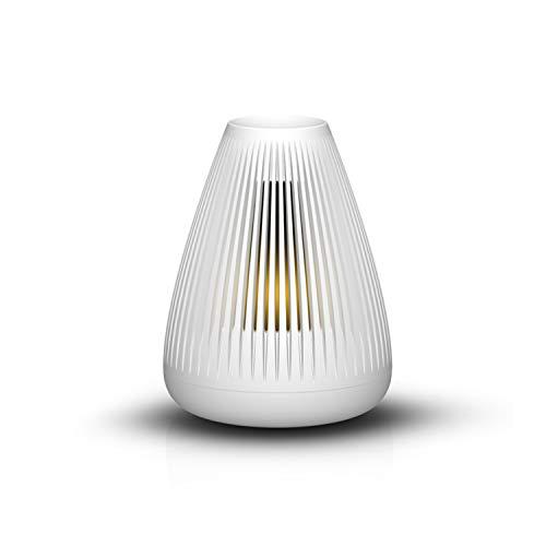 d-design Mood, hochwertiger Designer Luftbefeuchter, 2 l für bis zu 45 Stunden Laufzeit, mit Aroma-Funktion, Diffuser Aromatherapie, Raumbefeuchter, Vernebler, leise, weiß